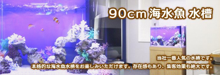 90cm海水魚水槽