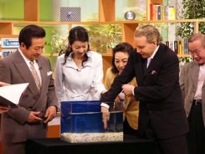 日本テレビ「ザ・ワイド」 「ガラ・ルファ」の撮影に参加